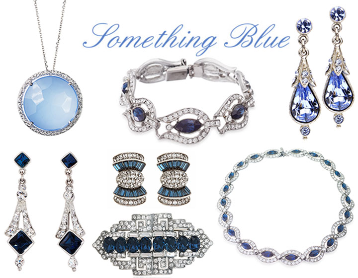 Blue Wedding Jewelry for your something blue.